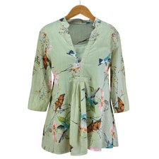 Sage Garden Beauties Tunic