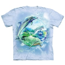 Dolphin Bubble Tee