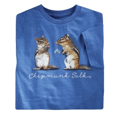 Chipmunk Talk Tee