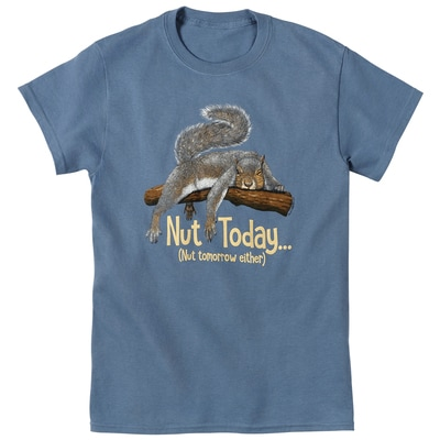 Nut Today Tee
