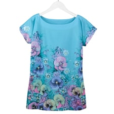 Pretty Pansies Tee