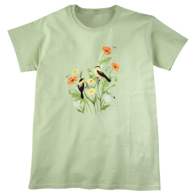 Summer Goldfinches Tee