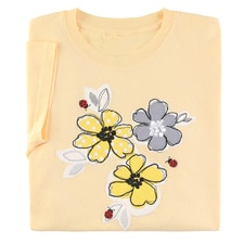 Ladybug Floral Tee