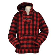 Plaid Moose Pullover