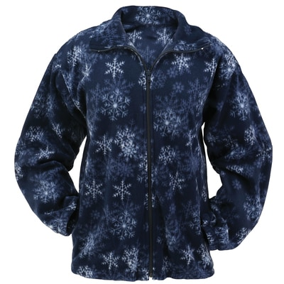 Snowflake Fleece Jacket
