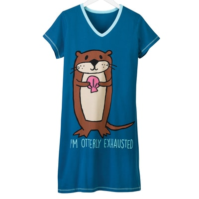 Otterly Exhausted Nightshirt