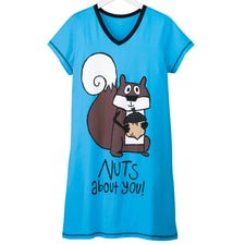Nuts About You Nightshirt