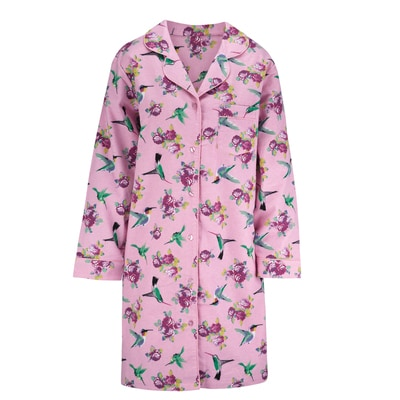 Pink Hummingbird Nightshirt
