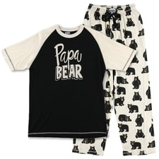 Papa Bear Pajama Set