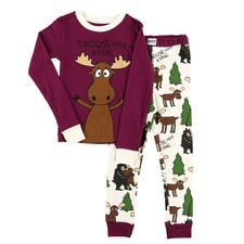 Moose Hug Pajama Set