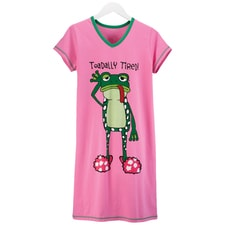 Toadlly Tired Nightshirt