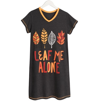 Leaf Me Alone Nightshirt
