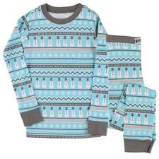 Nordic Snowman Kids Pajama Set