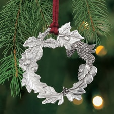 Wreath Plant a Tree Ornament