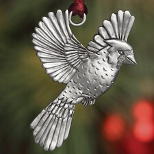 Flying Cardinal Plant a Tree Ornament