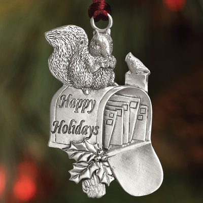 Squirrel Mailbox Plant a Tree Ornament