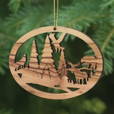 Northwoods Trees for Wildlife Ornament