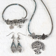 Trees for Wildlife Jewelry Set