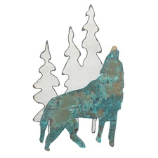 Howling Wolf Wall Art