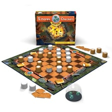 S'Mores Checkers Board Game