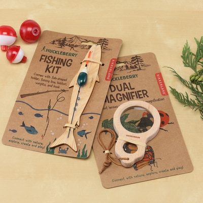 Fishing Kit & Magnifier Set