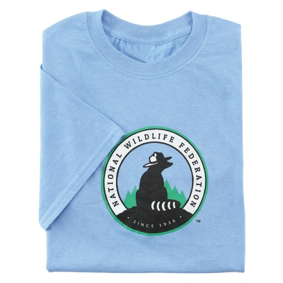 NWF Logo Men's Blue Tee