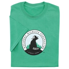 NWF Logo Men's Green Tee