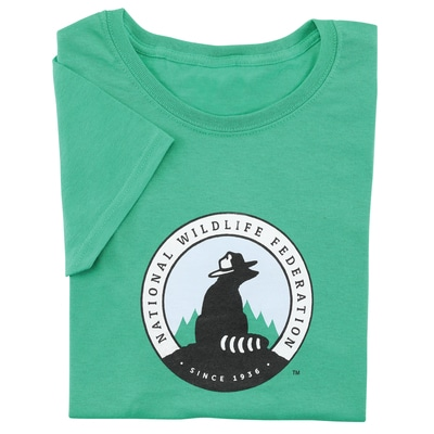 NWF Logo Women's Green Tee