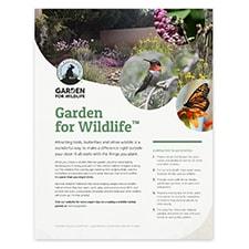 Attracting Wildlife Habitat Certification Applications