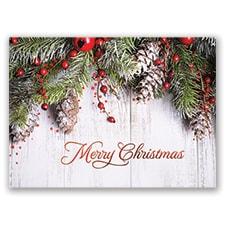 Holiday Swag Card