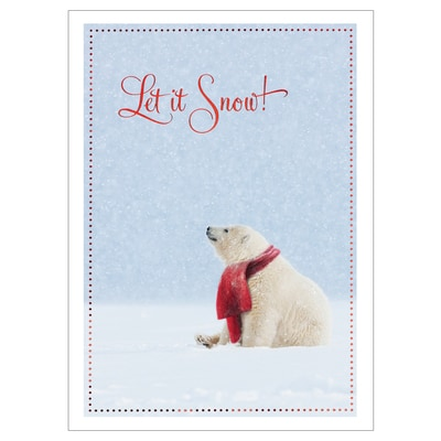 Snowy Day Card