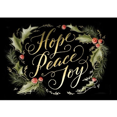 Holly Day Inspiration Card