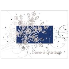 Glistening Snowflake Card