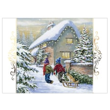 Winter scene christmas cards scenery christmas cards at shopnwf ready for christmas card m4hsunfo