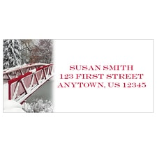 New Fallen Snow Address Labels