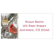 Cardinal Duo Address Labels