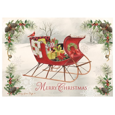 Holiday Sleigh Card