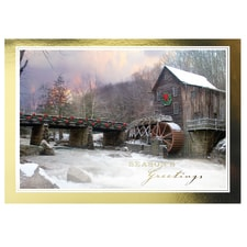 Christmas Mill Card