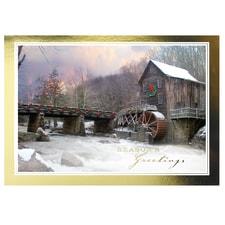 Christmas Mill Card