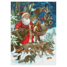 Wildlife Christmas Cards.Wildlife Christmas Cards Animal Christmas Cards At Shopnwf Org