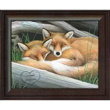 Fox Personalized Art Print