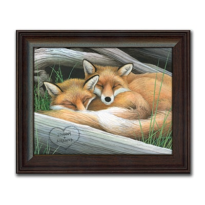 Fox Personalized Art Print