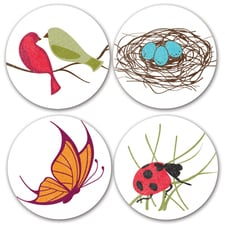 Birds and Bugs Seals