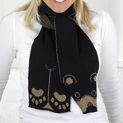Black Bear Scarf
