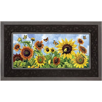 Sunflower Field Mat