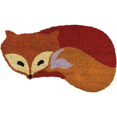 Fox Shaped Coir Mat