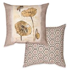 Honey Bee Reversible Pillow