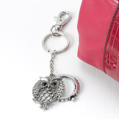 Owl Magnifying Keychain