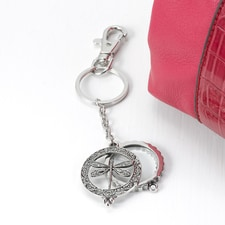 Dragonfly Magnifying Keychain