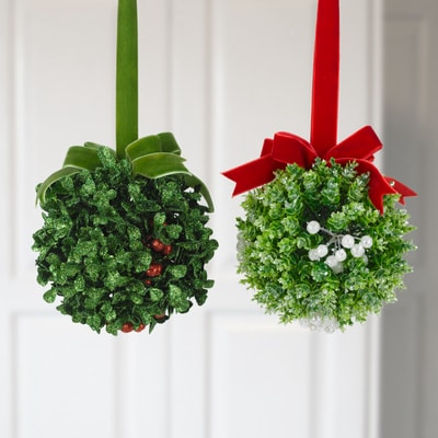 Mistletoe Ornaments